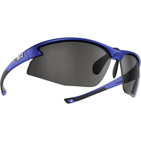 Bliz Motion M5 Brille metallic blue/smoke with silver mirror